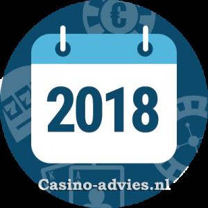 Nieuwste Online Casino's uit 2018