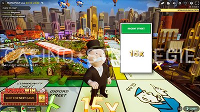 Monopoly Live x15