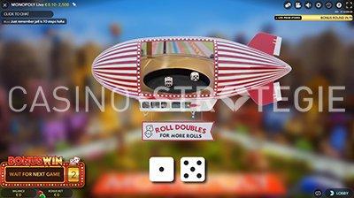 Monopoly Live Dobbelstenen